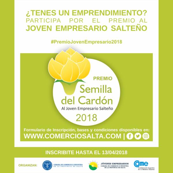 Premio al Joven Empresario Salteño