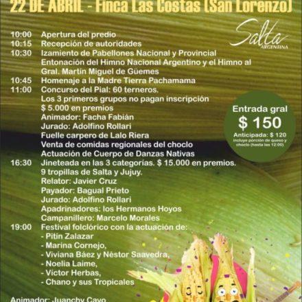 Mañana domingo se realizará el festival provincial del Choclo