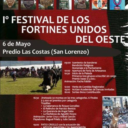 1° Festival de los Fortines Unidos del Oeste