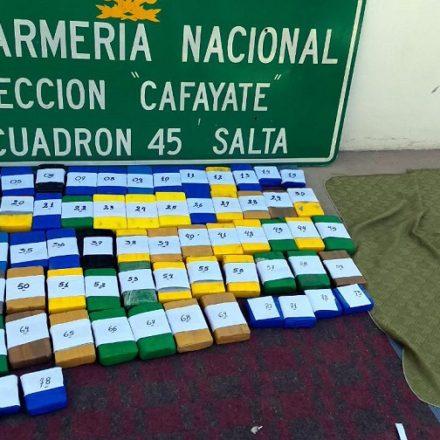 Incautan más de 78 kilos de cocaína y 340 kilos de hojas de coca