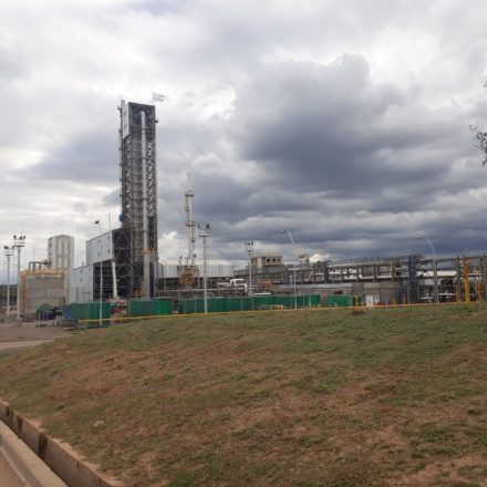 El Juez Fucho recorrió la planta de Nitratos Austin S.A en El Galpón