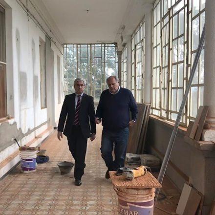 En Rosario de la Frontera avanzan las obras en el Hotel Termas