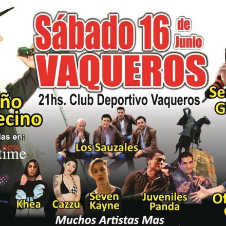 La XIX Edición de la Serenata al Héroe Gaucho se llevará a cabo el 16 de junio en Vaqueros