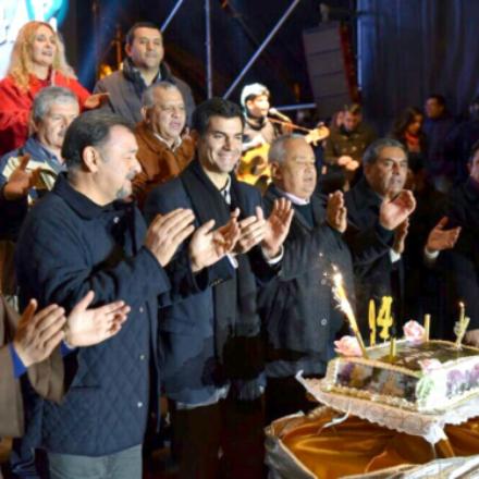 Junto al pueblo de Tartagal, Urtubey participó en el inicio de los actos por el 94° aniversario de la ciudad