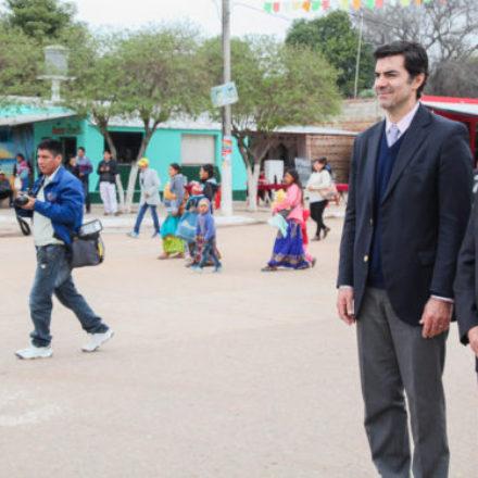 El gobernador Urtubey compartió con el pueblo de Ballivián los festejos patronales