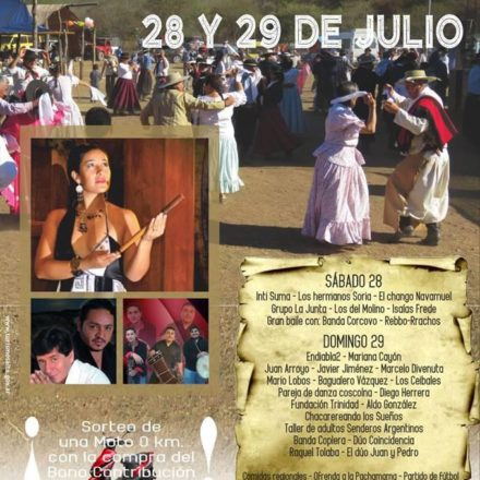 Lanzamiento – XIº Festival «La Troja canta»