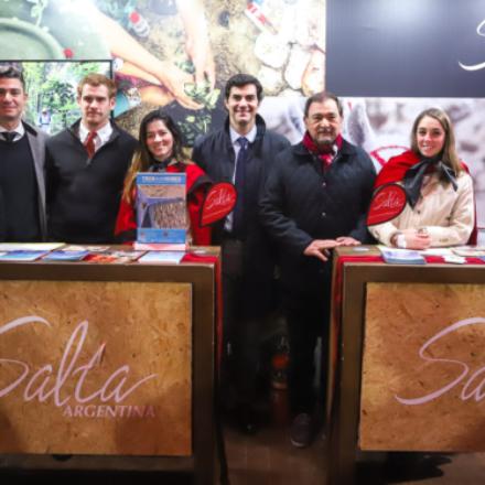 Urtubey visitó a productores salteños presentes en la Exporural de Buenos Aires