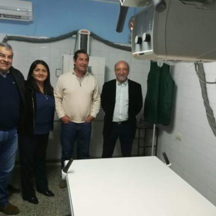Más de 14 mil habitantes de El Carril se benefician con el nuevo equipo de rayos que incorporó el hospital