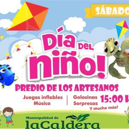 La Caldera: Festejos por el Día del niño
