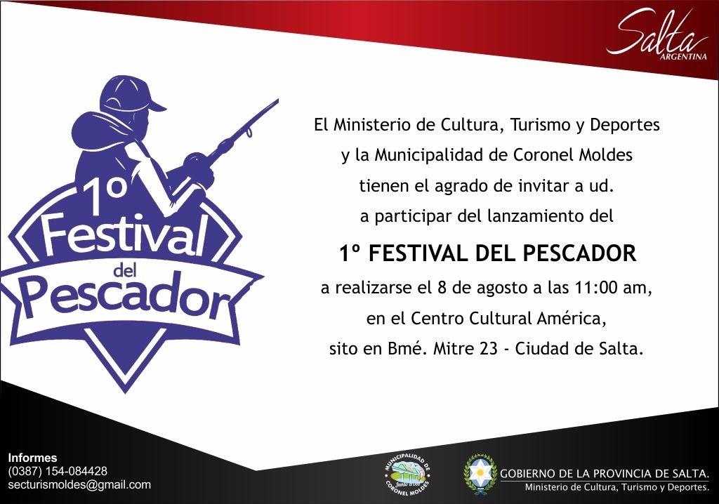 Presentarán la primera edición del Festival del Pescador