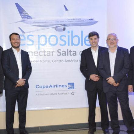 Con diversas acciones promocionan el vuelo Salta – Panamá que operará COPA Airlines desde diciembre