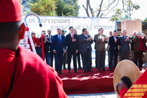 Urtubey encabezó los actos conmemorativos a 206 años del Combate de las Piedras