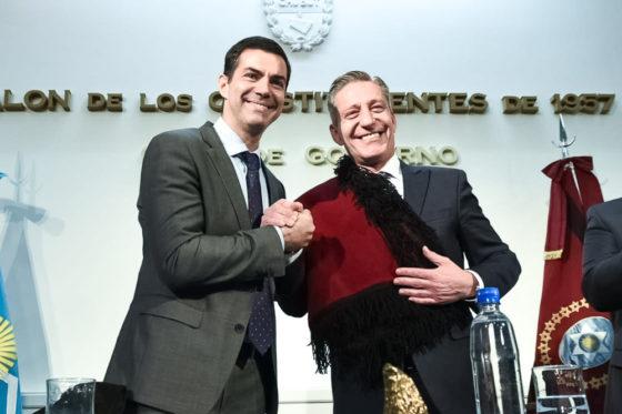 Urtubey y Arcioni suscribieron convenios que hermanan a Salta y Chubut en un mismo proyecto de país federal