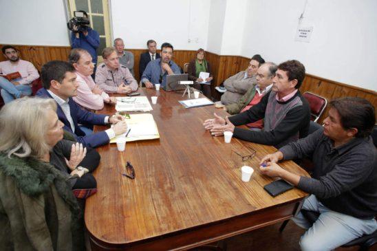 Diputados recibieron a la Cámara de Agencia de Remises de Salta