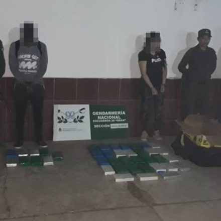 Detienen a una pareja con más de 41 kilos de cocaína en su equipaje