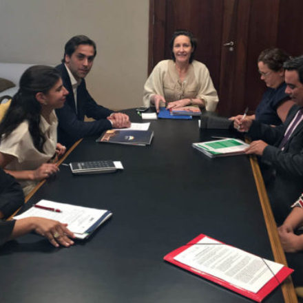 Informaron a la embajadora de la UE en la Argentina sobre avances del programa con Alentejo, Portugal
