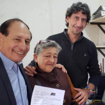 Implementan iniciativa para que adjudicatarios de lotes sociales regularicen sus deudas