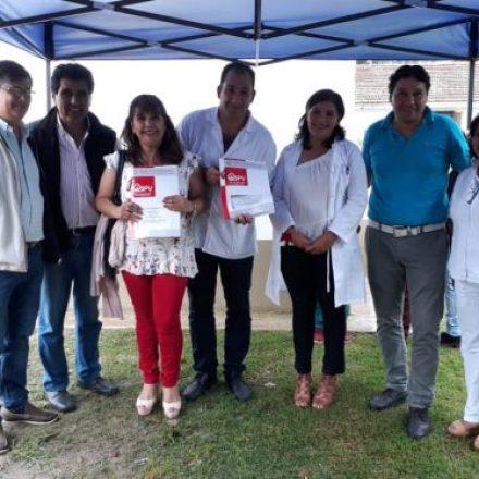 El IPV entregó dos viviendas para el personal médico de Aguas Blancas