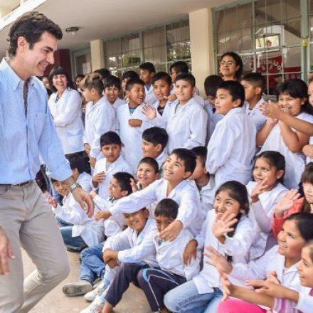 Más de 900 alumnos de la escuela Mariano Boedo de La Merced disfrutan de un nuevo playón deportivo