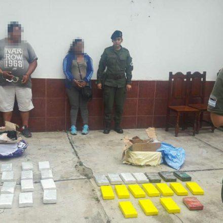 Detienen a una pareja con más de 40 kilos de cocaína en su vehículo