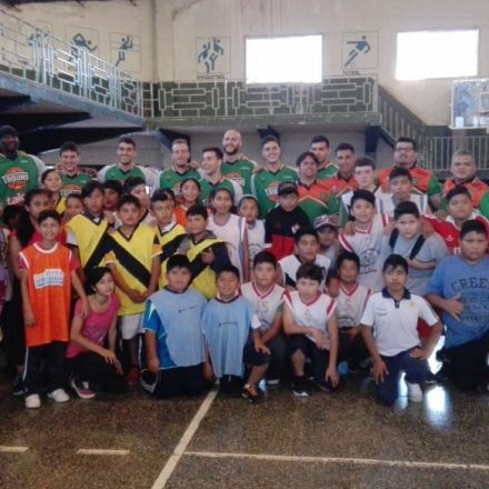Jornada de exhibición del Tribuno Básquet en La Merced