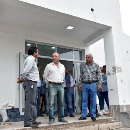 Está próxima a finalizar la obra de construcción del centro de salud en La Candelaria