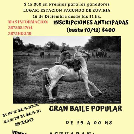 2º Concurso de carrera de Tambores en El Carril – Salta