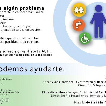 La Defensoría del Pueblo de la Nación realizará un operativo en Salta para asesorar y brindar soluciones a los vecinos