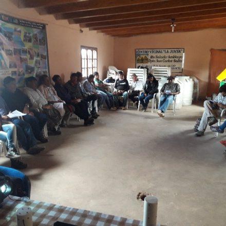 Mejoras productivas para agricultores familiares del Valle de Amblayo