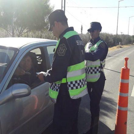 El intenso control vial del fin de semana permitió detectar 29 conductores alcoholizados