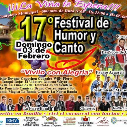 Todo listo para una nueva edición del Festival de Humor y Canto en La Viña