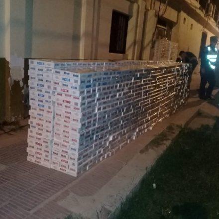 Incautan más de 6.000 cajas de cigarrillos que eran transportados de manera ilegal