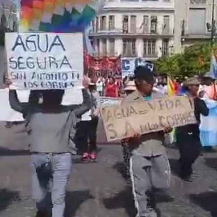 Miguel Isa recibió a vecinos de San Antonio de los Cobres que marcharon para pedir agua potable