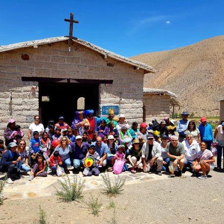 Los Reyes Magos visitaron a los niños de la Quebrada del Toro en sus hogares