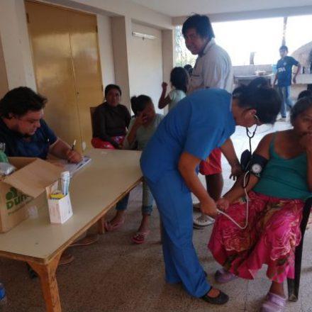 Fundación Adesar efectúa controles médicos en parajes de Santa Victoria Este