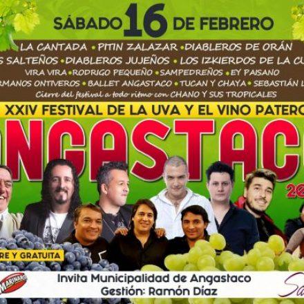 Mañana se realizará el lanzamiento del Festival de la Uva y el Vino Patero