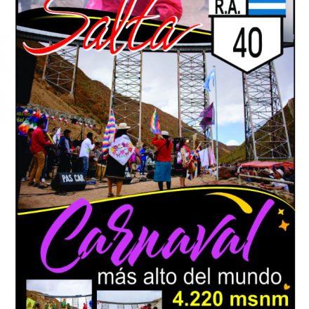 Se presentará una nueva edición del Carnaval más Alto del Mundo