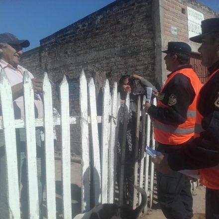 Campaña de Seguridad Ciudadana en Rosario de la Frontera