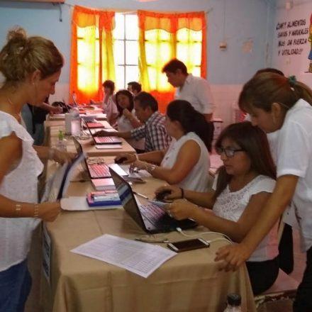 Continúan las designaciones docentes para el nivel inicial, primario y secundario
