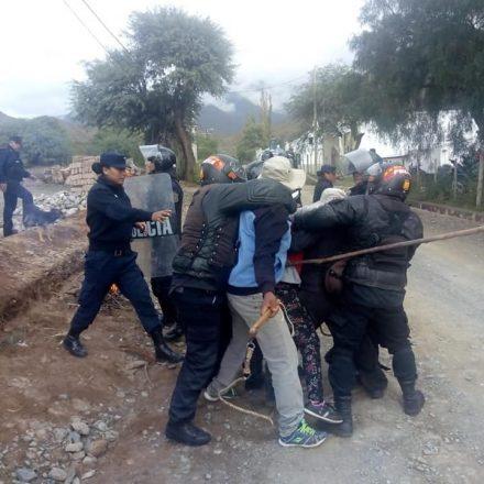 En Cachi detienen a personas por el intento de toma de terrenos privados