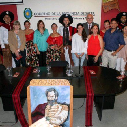 Presentaron las actividades para conmemorar el natalicio del General Güemes