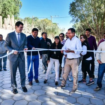 Urtubey inauguró obras viales y de electricidad en Cachi
