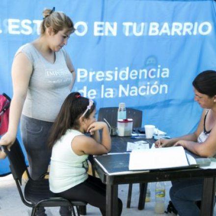 «El Estado en Tu Barrio» se instala en Rosario de la Frontera