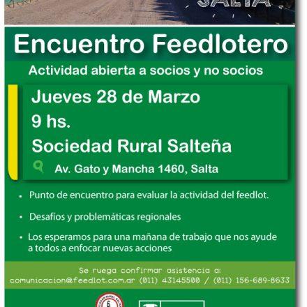 Encuentro Feedlotero en Salta