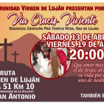 Vía Crucis Viviente en La Silleta (Campo Quijano) – Salta