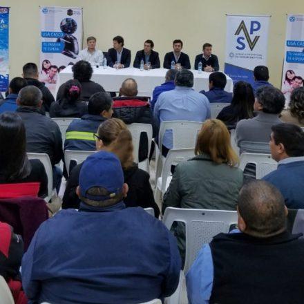 En el sur provincial capacitaron a empleados de los centros emisores de licencias de conducir