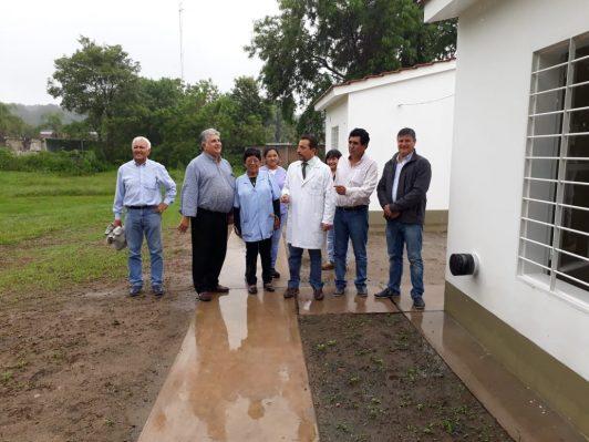 El IPV entregó tres viviendas destinadas al personal médico del hospital de Hipólito Yrigoyen