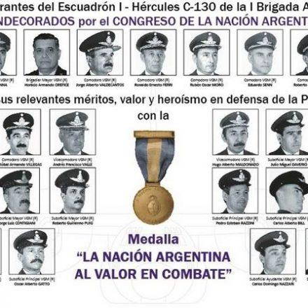 Condecoran en el Congreso de la Nación a Veteranos de Guerra de Malvinas, después de 36 años
