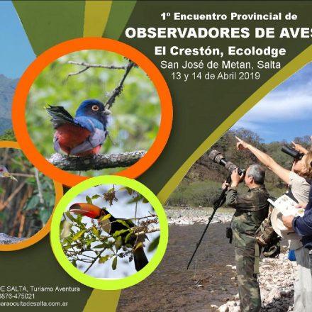 El fin de semana se realizará el 1º Encuentro Provincial de Observadores de Aves