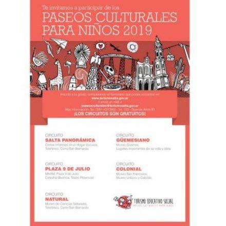 Mañana inician los Paseos Culturales para Niños
